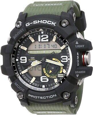Casio G Shock Mudmaster GG1000-1A3 Twin Sensor World Time Watch