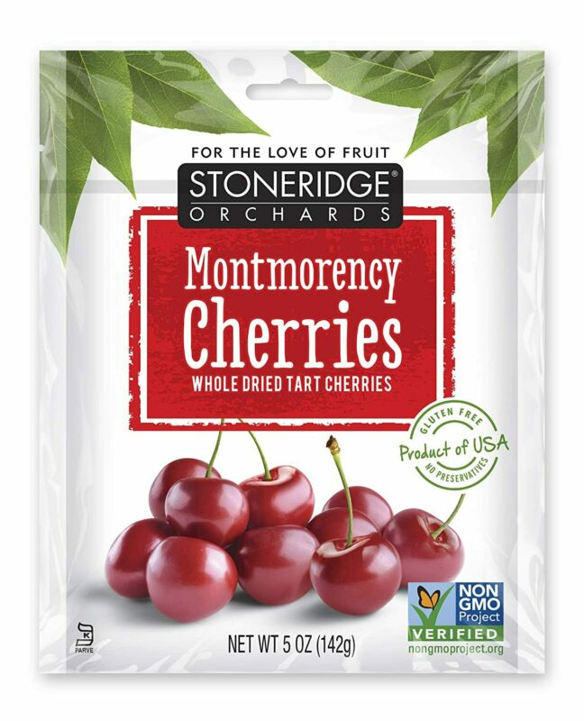 Stoneridge Orchards All Natural Whole Dried Montmorency Cherries, 5 Ounce