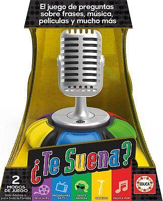 Educa Borras 17440. Juego de mesa ¿Te Suena?. Edición en castellano