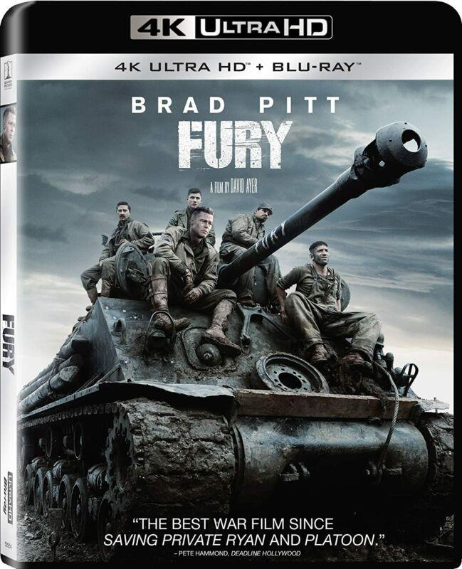 New Fury 4K - (4K/Blu-ray + Digital)
