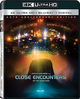 Close Encounters Of The Third Kind: Movie 40th Anniversary BluRay 4K HD Set NEW!