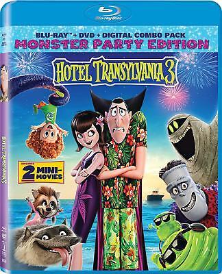 Hotel Transylvania 3: Summer Vacation (Blu-ray + DVD + Digital) w/ SLIP COVER