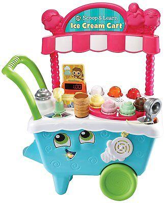 "LeapFrog 600703 ""Scoop/Learn Ice Cream Cart"" Toy Set"