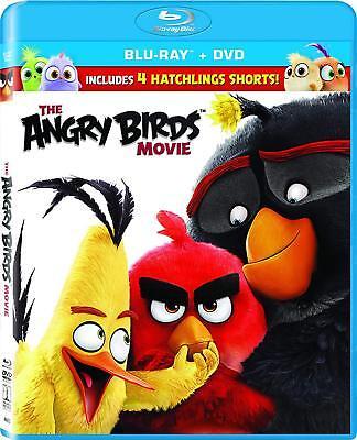 THE ANGRY BIRDS MOVIE BLU-RAY | DVD | BRAND NEW | REGION FREE