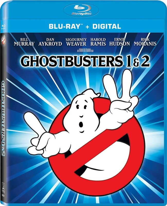 New Ghostbusters I & II Collection (Blu-ray + Digital)