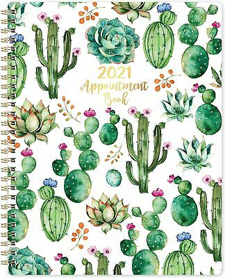 New New 2021 Weekly Appointment Book Planner Daily Hourly Planner 8 X 10