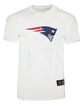 NFL New England Patriots Logo T Shirt Mens Small Official Apparel Jersey