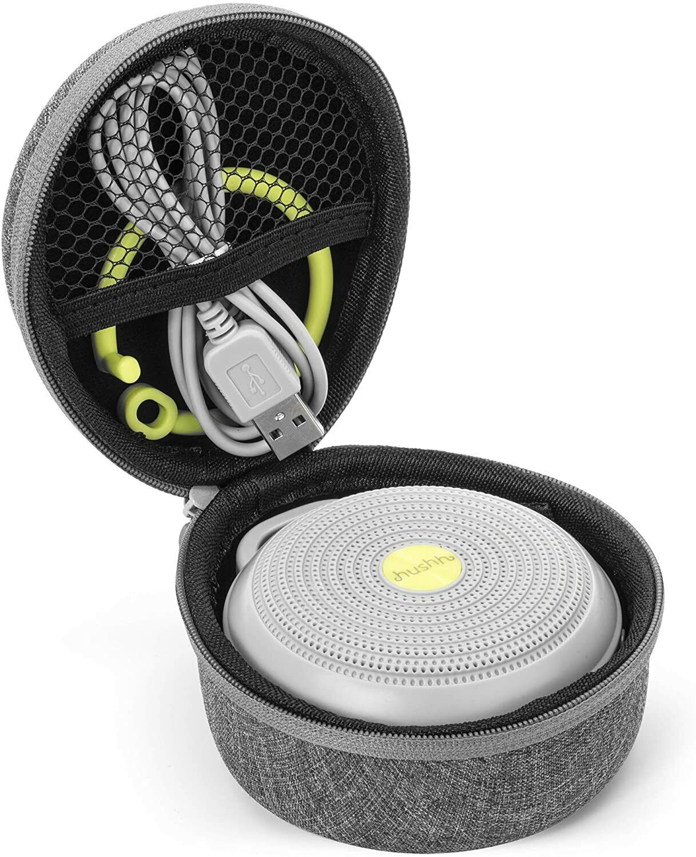 yogasleep crush resistant travel case for hushh