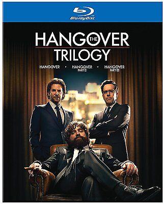 The Hangover Trilogy 1 2  3  Blu Ray Disc  2013  Bradley Cooper   Brand New