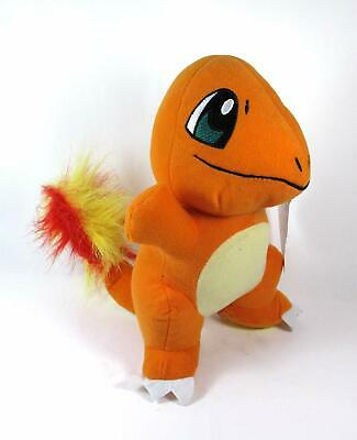 Pokemon Plush Charmander 7'' tall. Small Soft Toy. New Licensed Plush.
