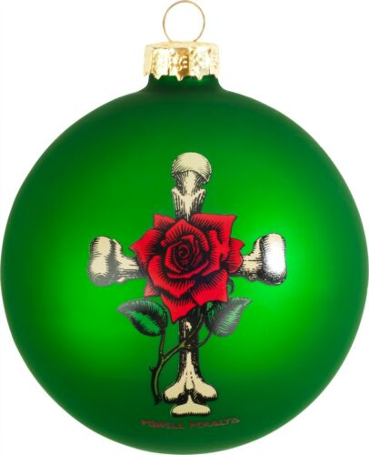 Rose Bones Limited Powell Peralta Skateboards Christmas Tree Ornament NEW 2016