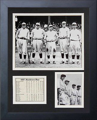 9885c8a7b 11X14 1927 NEW YORK YANKEES MURDERERS ROW 8X10 PHOTO BABE RUTH LOU GEHRIG