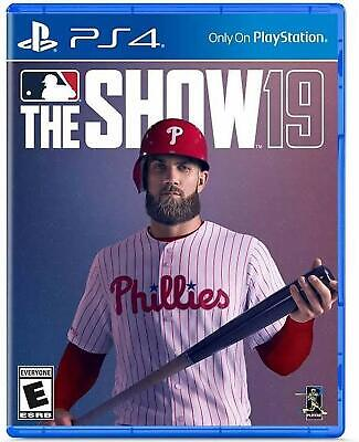 MLB The Show 19 PS4 PlayStation 4 Brand New Mlb The Show
