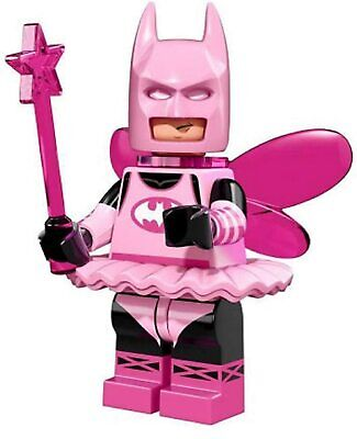 Lego batman movie series fairy batman mini-figure #03 of 20 w/ checklist