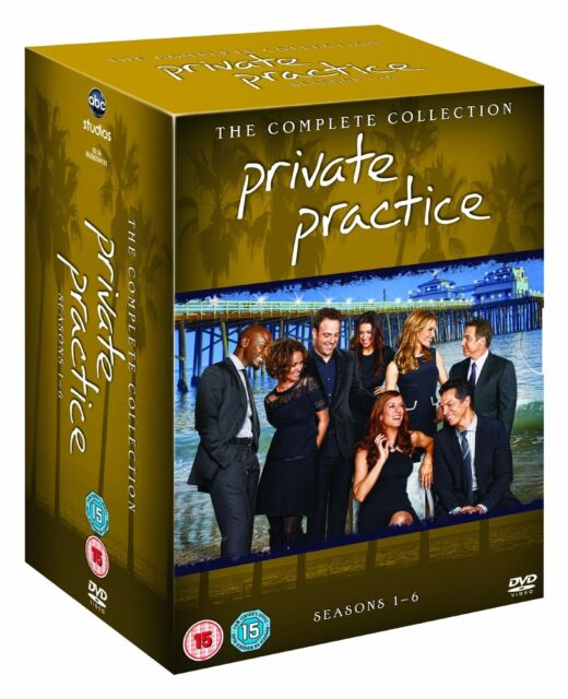PRIVATE PRACTICE COMPLETE SERIES SEASON 1,2,3,4,5,6 R4 34 DISCS 1-6 EXPRESS POST