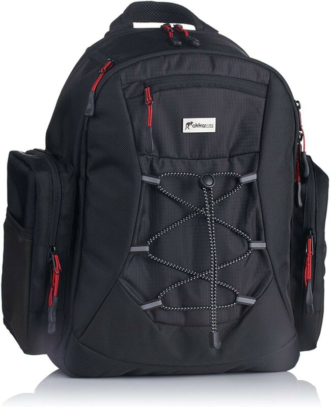 Okkatots Everyday Baby Diaper Bag Backpack Black NEW 2016