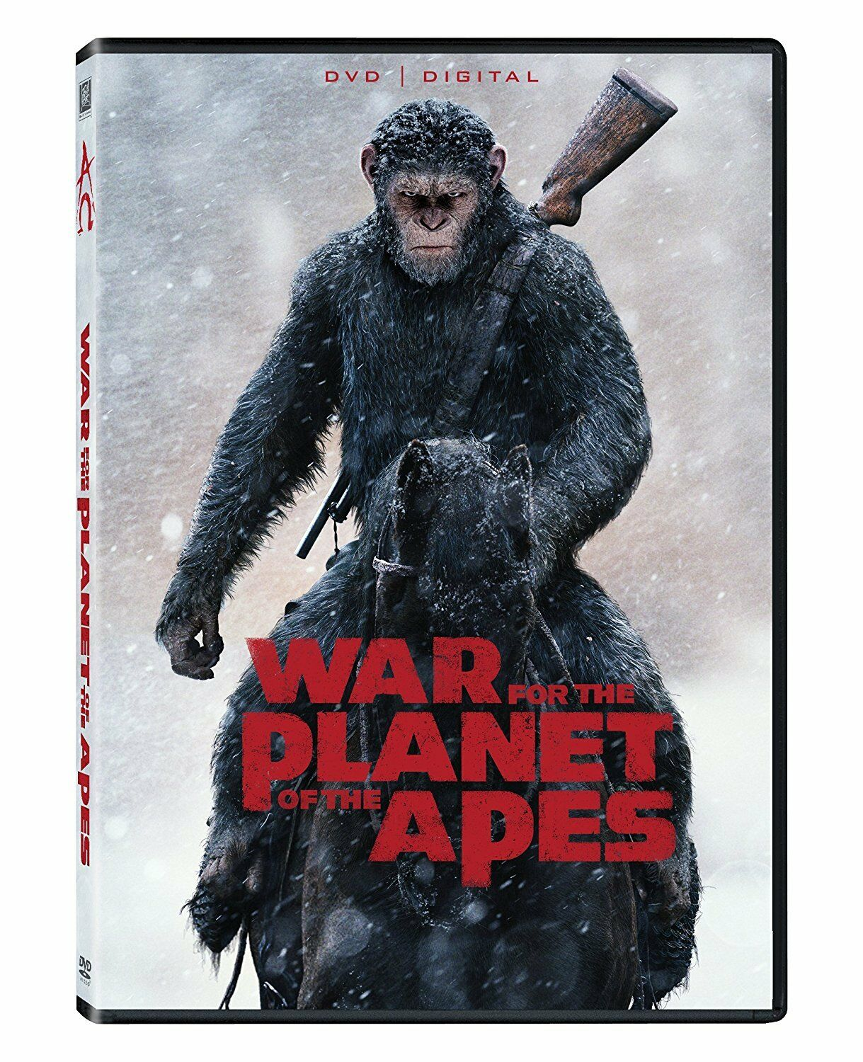 War for the Planet of the Apes DVD, 2017 SHIPS WITHIN 1 BUSINESS DAY W/TRACKING