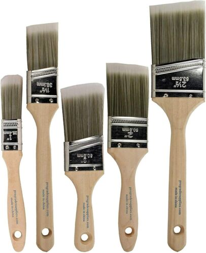 Paint Brushes Set Professional Brush Acrylic Extra Watercolor Craft Lot Tools