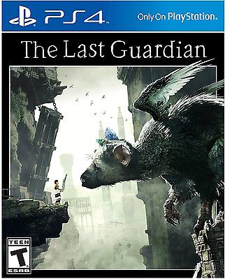 PLAYSTATION 4 THE LAST GUARDIAN BRAND NEW VIDEO GAME