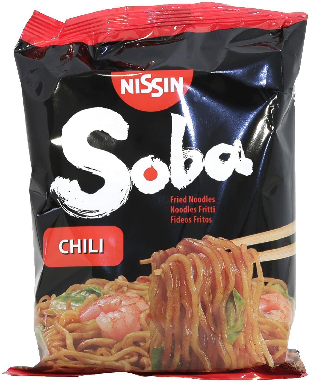 14,99 € per Nissin - Yakisoba Noodle Di Grano Saraceno Piccanti Instant - 110 Gr Chili su eBay.it