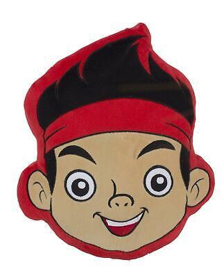 Disney Jake and TNP Matey Shaped Cushion Character World Pirates
