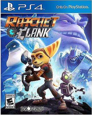Ratchet & Clank Video Game for Sony PlayStation 4, PS4, Brand New