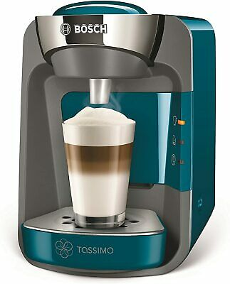 Bosch Tassimo Suny Coffee Machine, Blue, 0.8L, 1300w