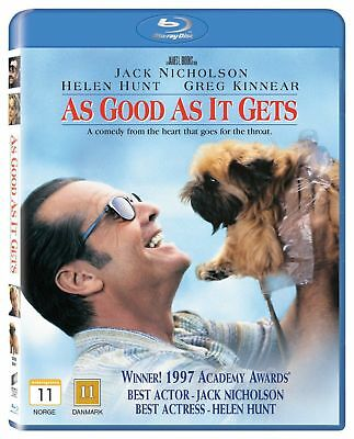 As Good As It Gets (1997) Jack Nicholson Blu-Ray BRAND NEW Free Shipping