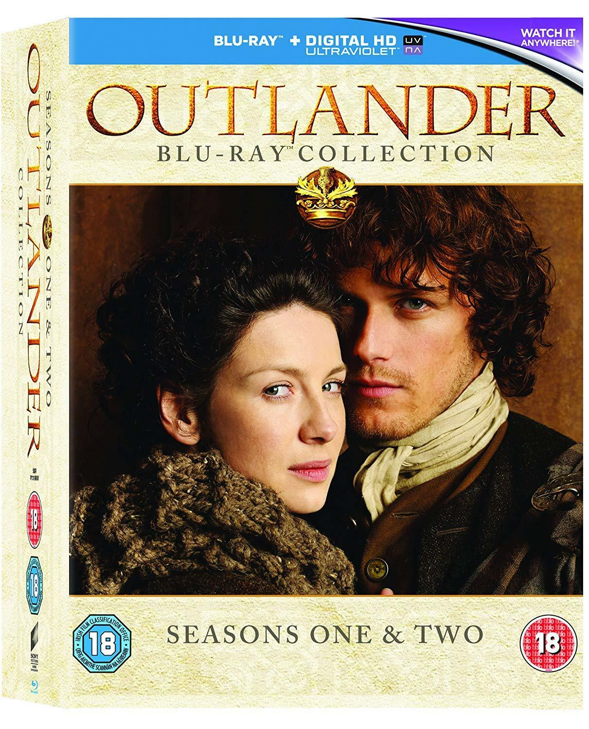 Details about Outlander Season 1 + 2 Collection [Blu-ray Box Set Region  Free TV Series] NEW