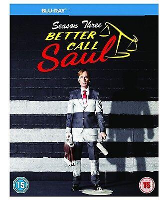Better Call Saul Complete Series 3 Blu Ray soul 3rd Third Season UK Brand