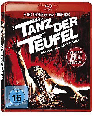 Tanz der Teufel [Blu-ray](Remas. 2 Discs Uncut in roter Amaray)(NEU/OVP) Raimi (Hexen In Der Halloween)