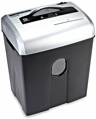 AmazonBasics 12-Sheet Cross-Cut Paper, CD, and Credit Card Shredder, New