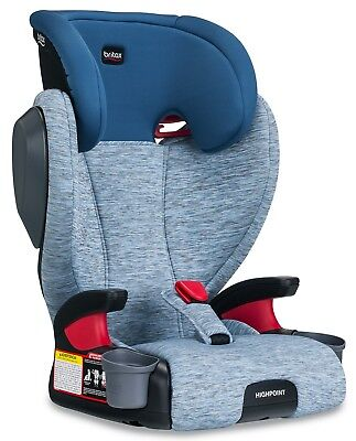 Britax Highpoint Belt-Positioning Child Safety Booster Car Seat Seaglass NEW