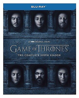Game of Thrones: The Complete Sixth Season 6 Blu Ray Brand New Free Shipping