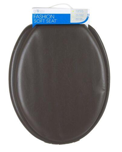 SOFT PADDED VINYL ELONGATED TOILET SEAT