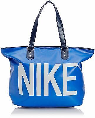 Nike Large Leather Look Heritage Tote Bag Handbag Gym Holiday Sports Mens Womens