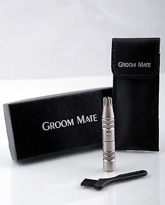 GROOM MATE MENS EAR AND NOSE HAIR TRIMMER CLIPPER BEST For LIFETIME (Best Ear Nose Trimmer)