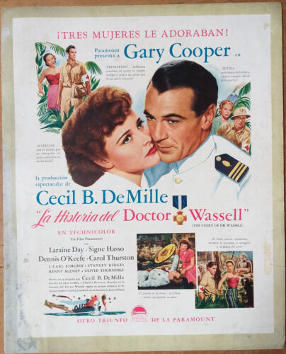 THE STORY OF DR. WASSELL, Gary Cooper, Laraine Day, 1944, Pressbook 534