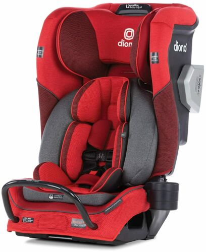 Diono Radian 3QXT All-In-One Booster Child Safety Car Seat Red Cherry NEW