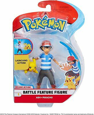 Pokemon Pikachu and Ash | POKEMON Battle Feature | Pokemon Collectables
