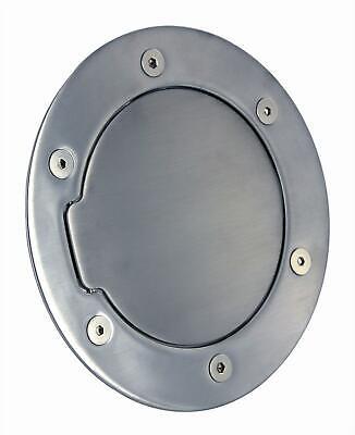 All Sales Non-Locking Gas Filler Door-Brushed, for Dodge Ram Trucks; 6041