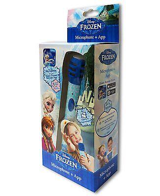 Disney Frozen Die Eiskönigin FRJ001Z - Karaoke Mikrofon mit App