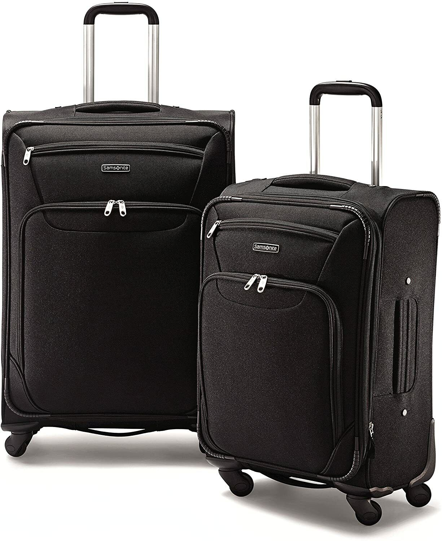 2 piece spinner luggage set