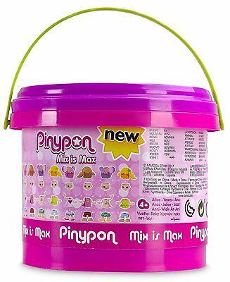 Pinypon Cubo Mix Is MAX con 5 Figuras Famosa 700013810 piezas y accesorios 50