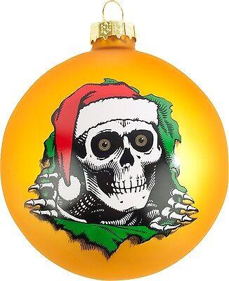 Santa Ripper Limited Powell Peralta Skateboards Christmas Tree Ornament NEW 2016