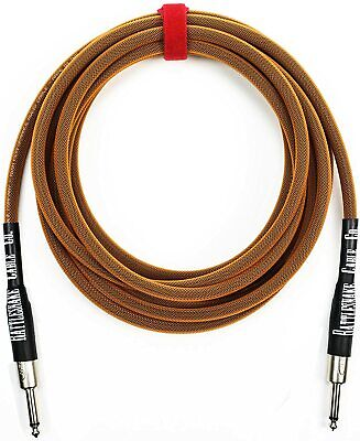 Stagg SGC10DL 33 Foot Heavy Duty Deluxe Guitar Amp or Other Instrument Cable
