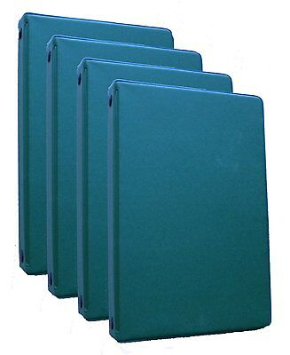 Mead 46001-hg Small 6-ring Hunter Green Binders With 6.75 X 3.75-inch 4 Pack