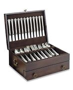 Silver Flatware Storage Chest