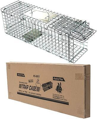Display4top Humane Live Animal Trap Cage,Catch and Rabbit,Squirrel Raccoon