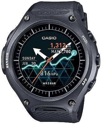 CASIO WSD-F10BK Smart Outdoor Watch MIL-STD-810G Japan F/S EMS Tracking New
